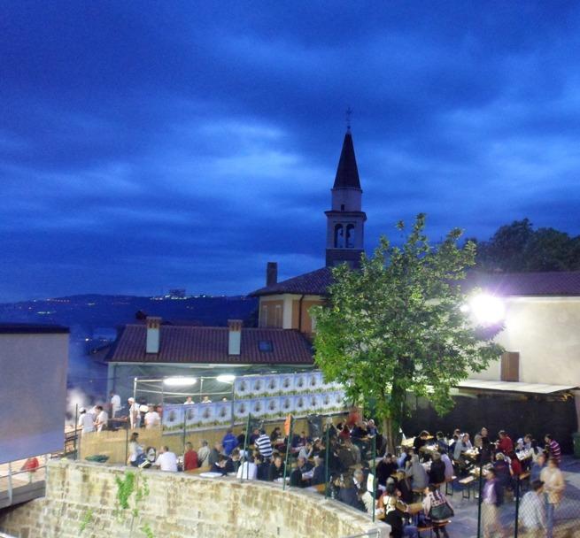 Majenca 2012, la Piazza di Dolina in festa