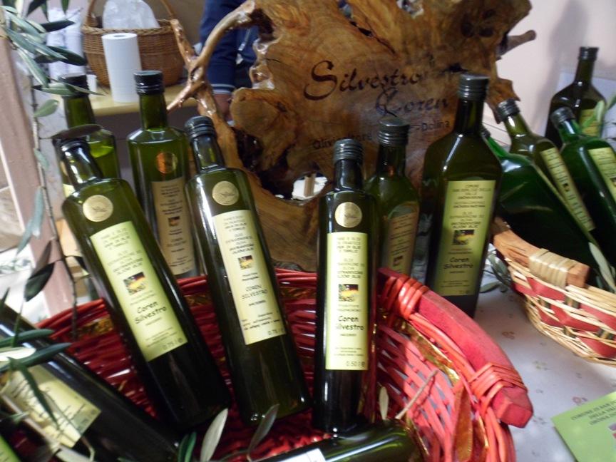 Bottiglie di olio evo di Bianchera