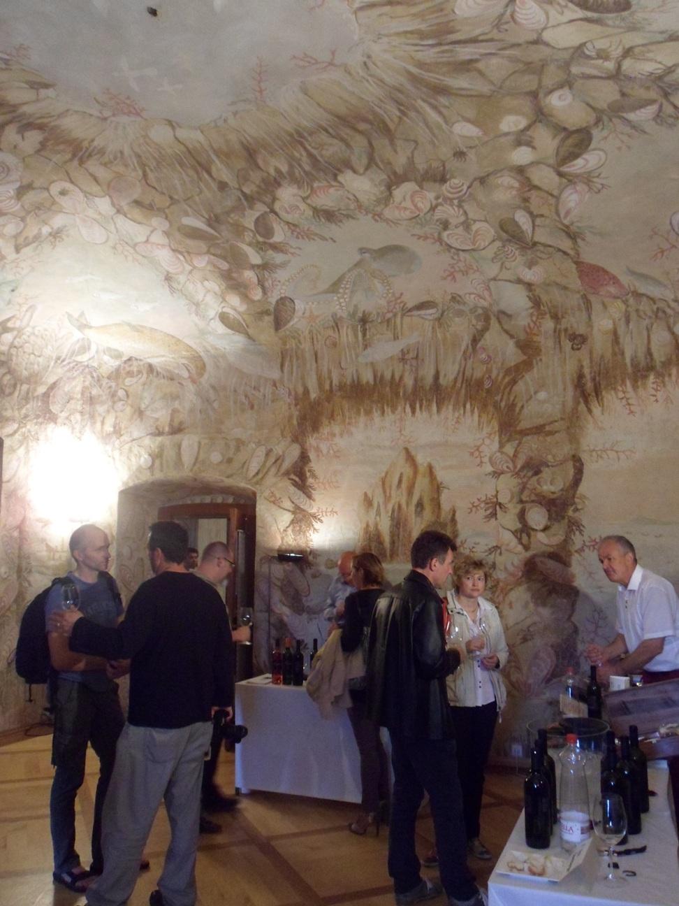 Sala del Castello di Zemono