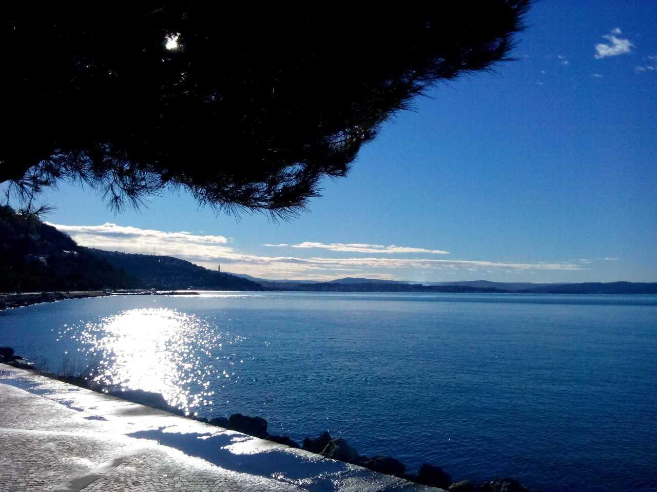 Il Golfo di Trieste in Febbraio