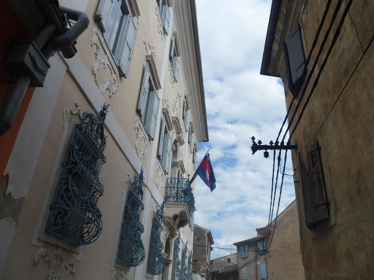 Izola d'Istria, i vicoli del paese