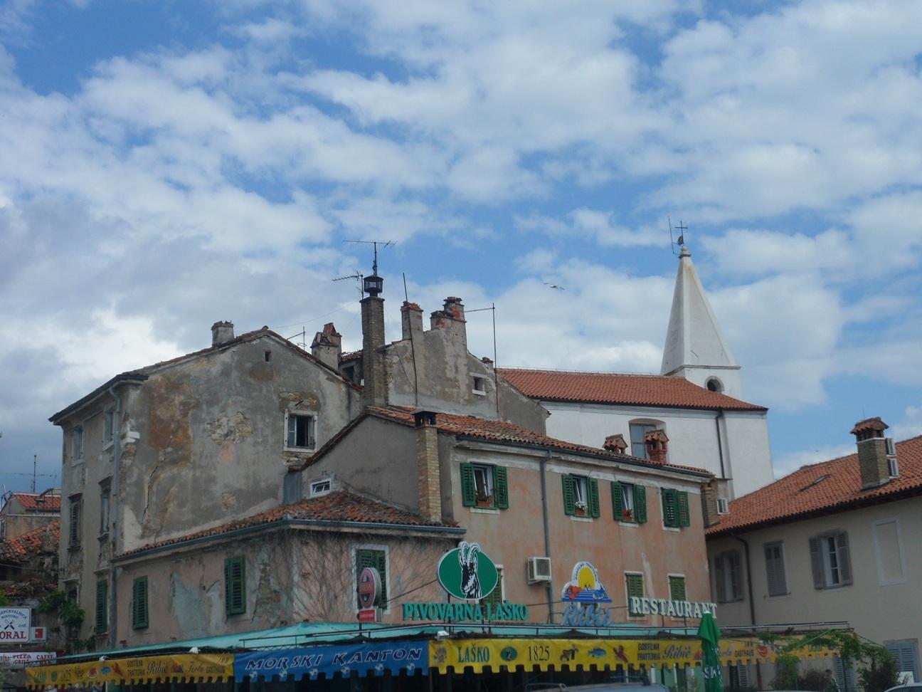 Izola d'Istria, il centro cittadino