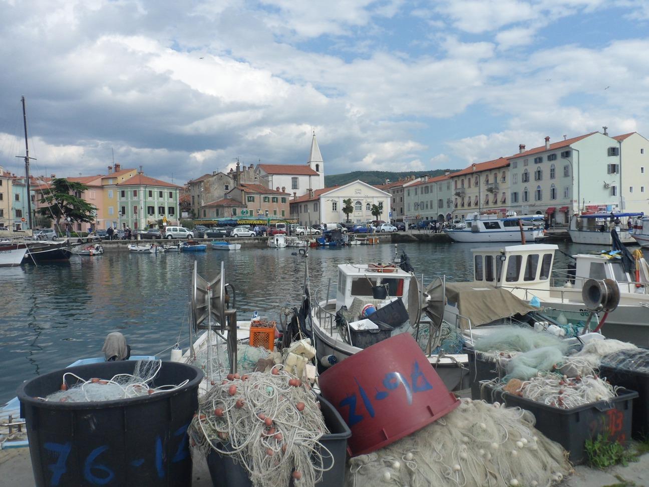 Izola d'istria, il porto
