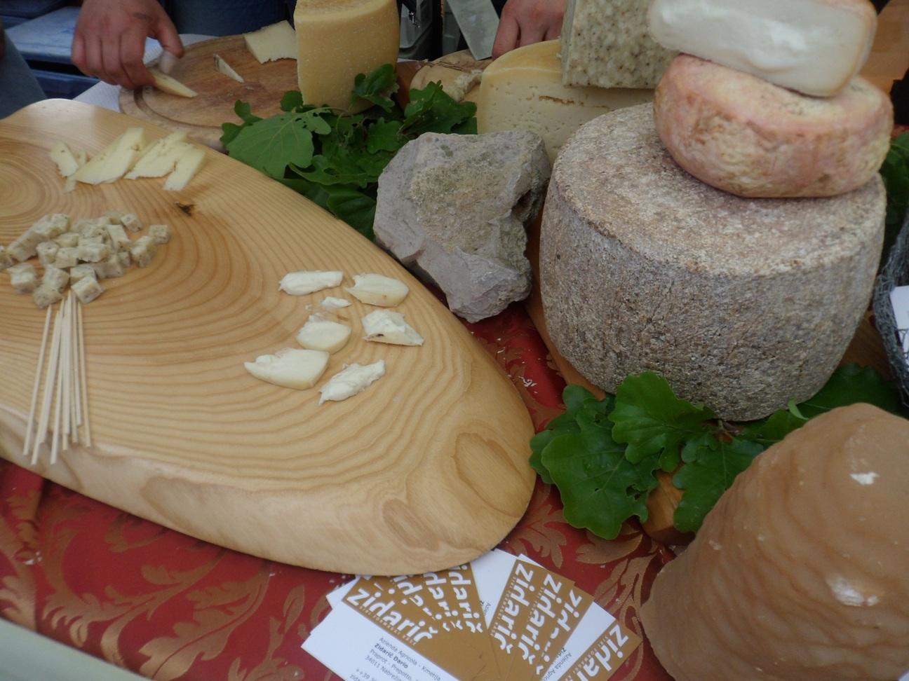 I formaggi di Zidarich