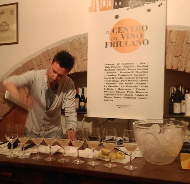 Giuliano Maragna e il White Lady