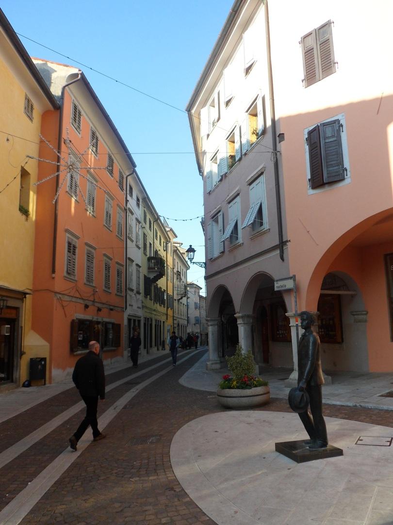 Il centro di Gorizia