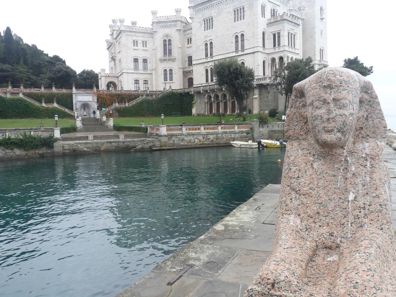 Il Parco di Miramare a Trieste