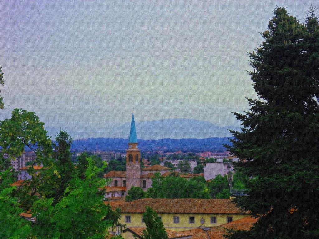 La vista dal Castello di Udine