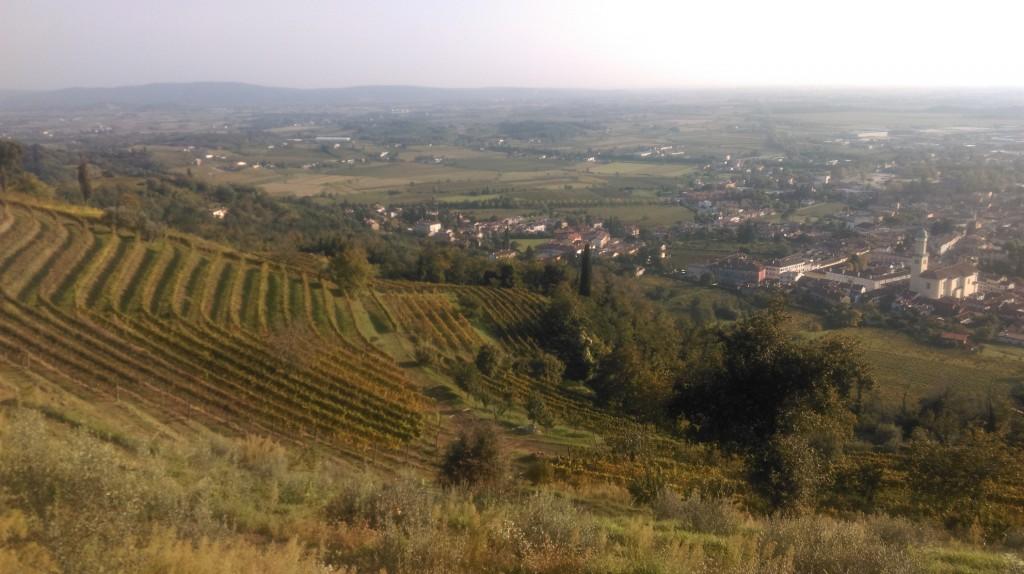 La vista dalla Chiesa del Monte Quarin
