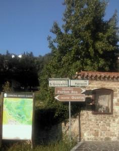 Direzione al Monte Quarin