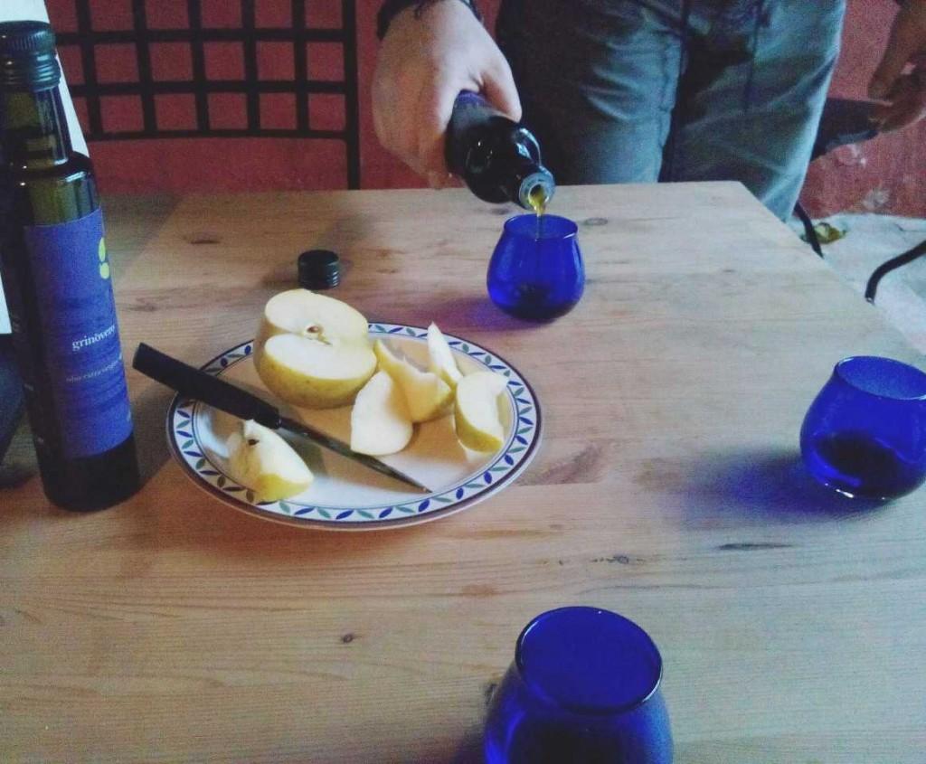 Degustazione dell'olio d'oliva a Cividale del Friuli