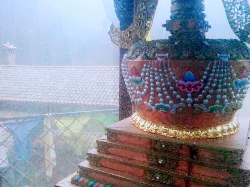 Lo stupa del Monastero Buddista di Polava