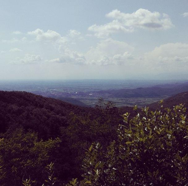 Vista panoramica da Castelmonte
