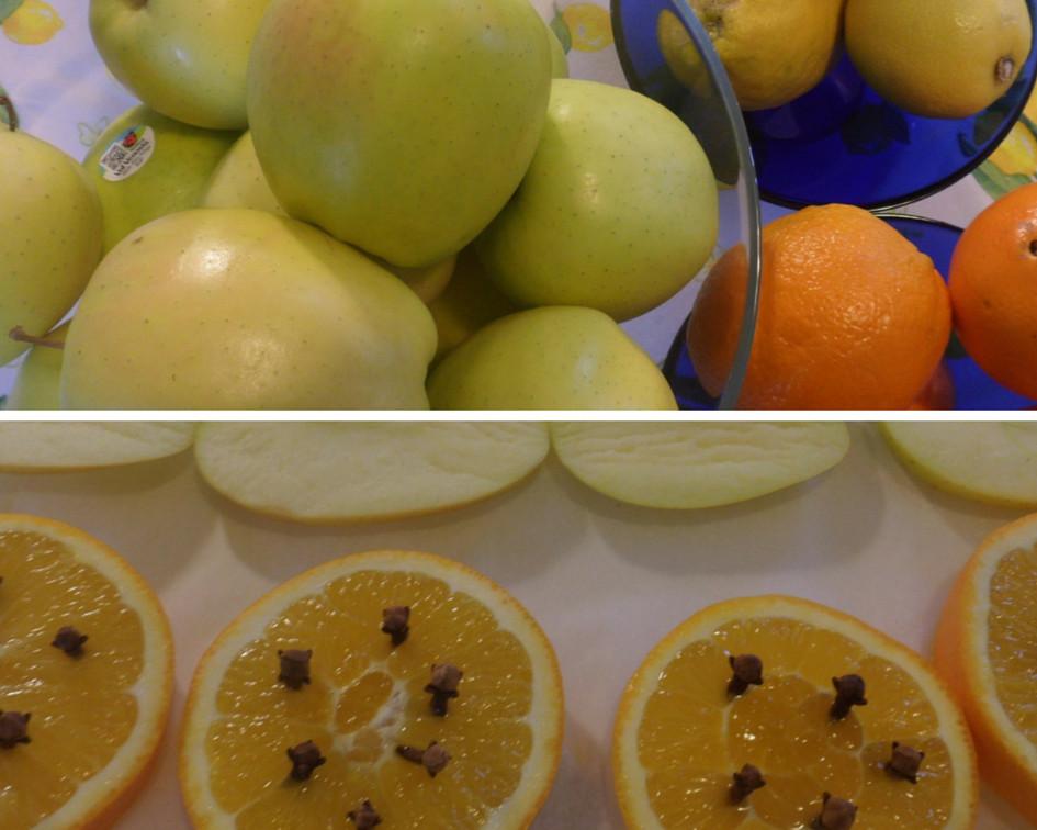 Frutta da essiccare per Natale