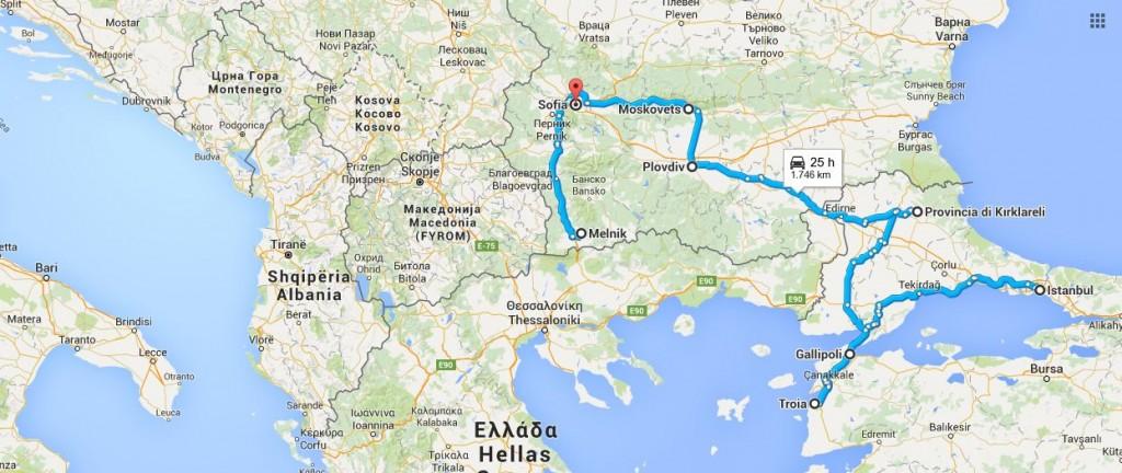 Viaggio in Turchia e Bulgaria