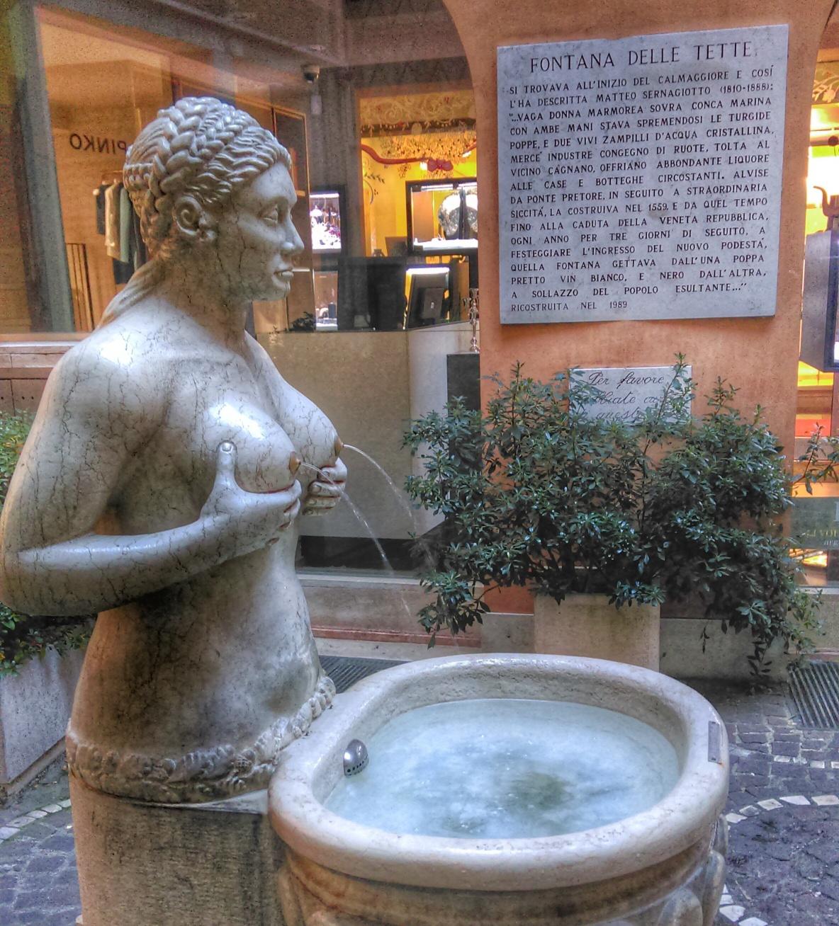 Fontana delle tette a Treviso