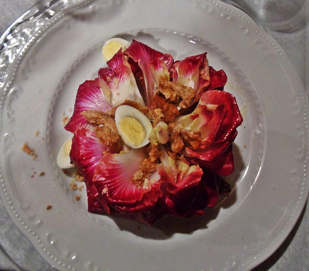 Rosa di Gorizia e uova