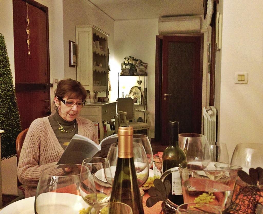 La scrittrice Patrizia Sanguineti