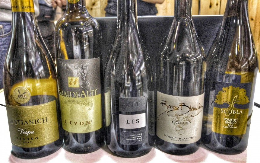 Vini bianchi del Friuli