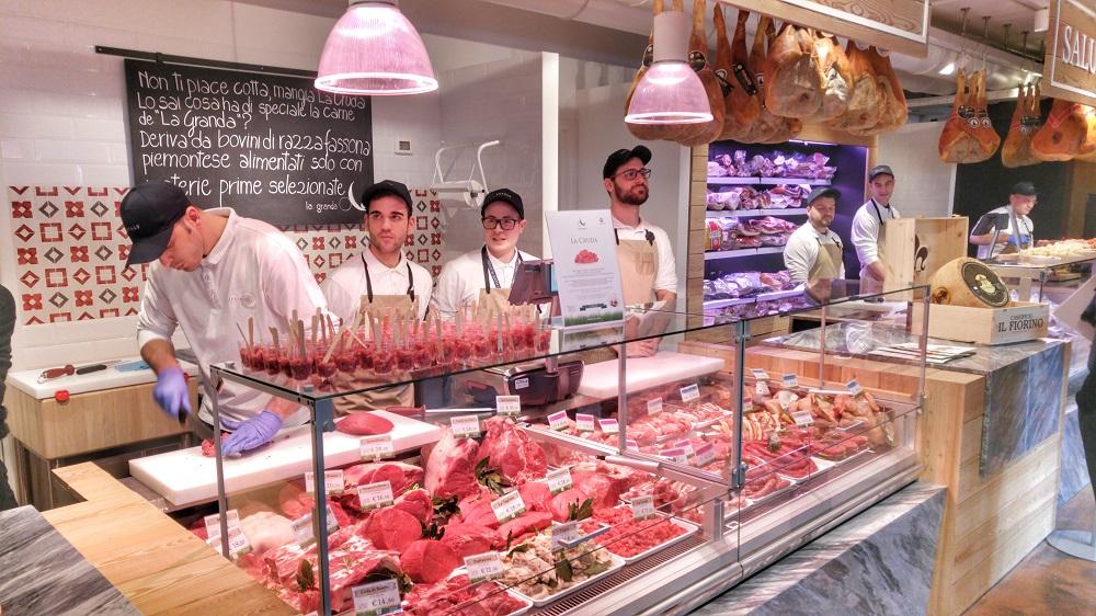 Eataly Trieste: la macelleria